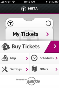 mTicket Home Page